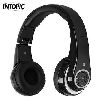 (福利品)INTOPIC-藍牙無線頭戴式耳麥 JAZZ-BT950