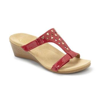 【美國VIONIC法歐尼】健康美體時尚鞋Maggie-瑪姬(紅色)