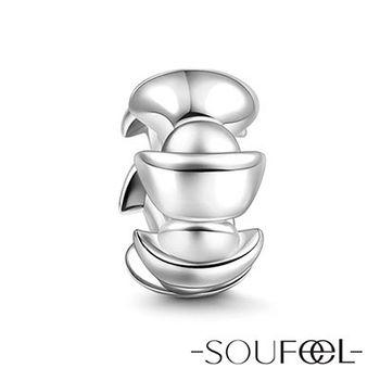 SOUFEEL索菲爾 英倫925純銀《銀元寶》墊片