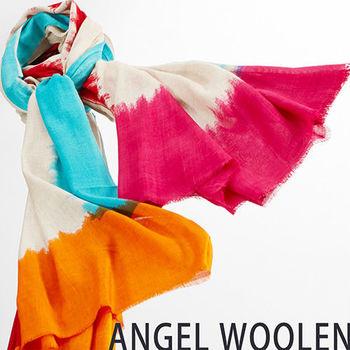 【ANGEL WOOLEN】渲染風情MODAL披肩