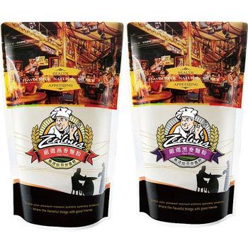 【台灣綠源寶】嚴選烘焙麵粉超值組C(燕麥*6+黑麥*6)