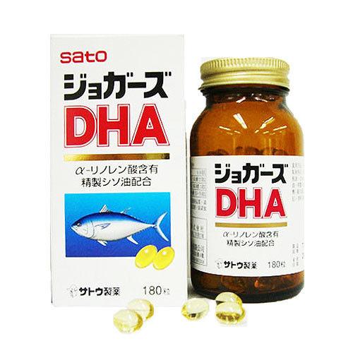 佐藤SATO 嬌爾思DHA膠囊(180顆)