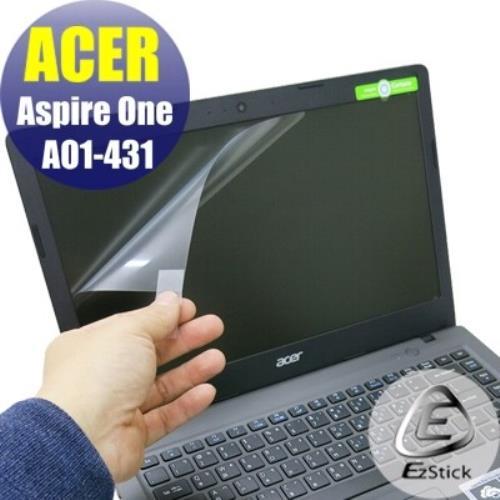 【EZstick】ACER Aspire One Cloudbook 14 AO1-431 專用 靜電式筆電LCD液晶螢幕貼 (霧面螢幕貼)