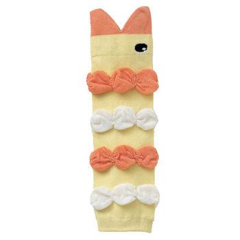 日韓鯊魚嘴卡通純棉泡泡襪套【3入】-A05+兩雙隨機
