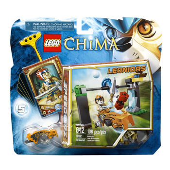 【LEGO 樂高積木】Chima 神獸傳奇系列 - 瀑布陣 LT 70102