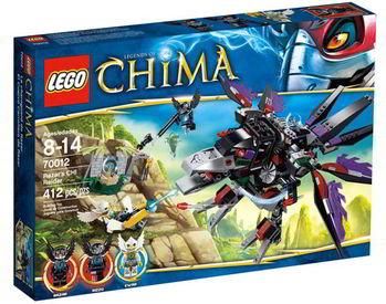 【LEGO 樂高積木】Chima 神獸傳奇系列 - 魔盜鴉 Razar 追擊  LT 70012