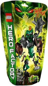 【LEGO 樂高積木】Hero Factory 英雄工廠系列 - 綠晶魔 OGRUM LT 44007