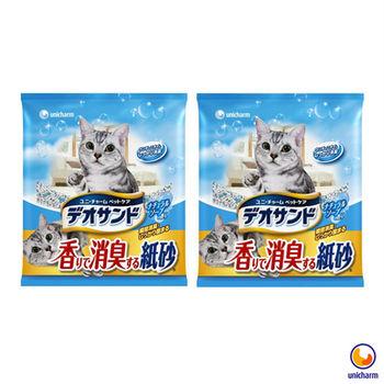【Unicharm】日本消臭大師 消臭紙砂 肥皂香 5L X 2包入