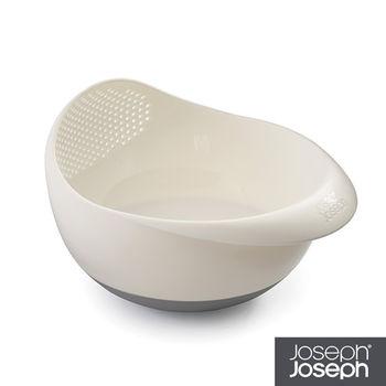 《Joseph Joseph英國創意餐廚》浸泡洗滌兩用濾籃(小白)-40066