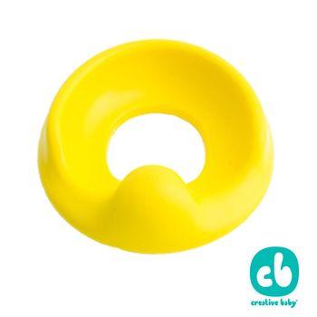 Creative Baby 創寶貝- 幼兒學習馬桶軟墊 黃色(Komfy)