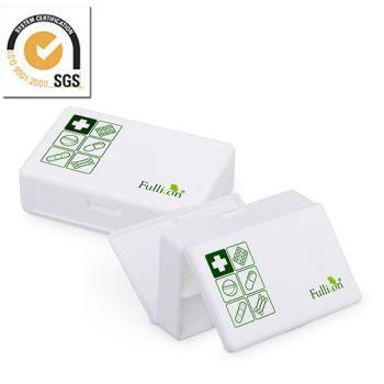 雙面開 大容量藥盒葯盒 隨身盒/ 收納盒
