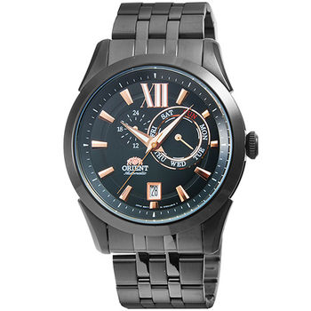 ORIENT 東方錶經典機械錶-IP黑 # FET0X001B (原廠公司貨)