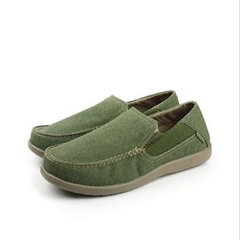 Crocs 懶人鞋 綠 男款 no278