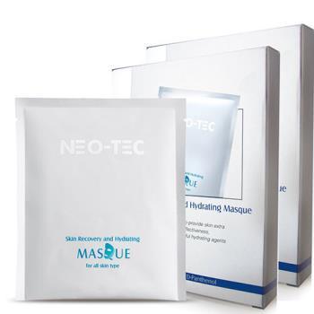 NEO-TEC妮傲絲翠 高效水嫩修護面膜(4片/盒) 2盒組(加贈妮傲絲翠體驗包*3)