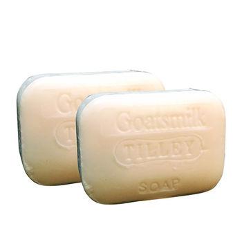Tilley百年特莉 山羊奶健康手工皂100gx2入裝