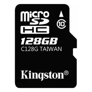 【金士頓 Kingston】128GB microSDHC UHS-1 Class10 記憶卡