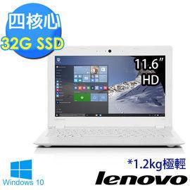 Lenovo 聯想 ideapad 100s-11IBY 80R2005BTW 11.6吋 Z3735F四核心 32G SSD 超值首選筆電