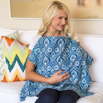 美國Mothers Lounge美型哺乳巾-部落圖騰