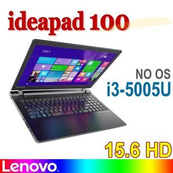 Lenovo 聯想 ideapad 100 80QQ000RTW 15.6吋 i3-5005U DVD NO OS 入門經濟筆電