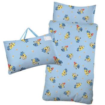 【BabyTiger虎兒寶】卡通造型幼教兒童睡袋- 神偷奶爸之小小兵