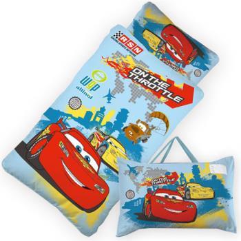 【BabyTiger虎兒寶】卡通造型幼教兒童睡袋-閃電麥坤cars