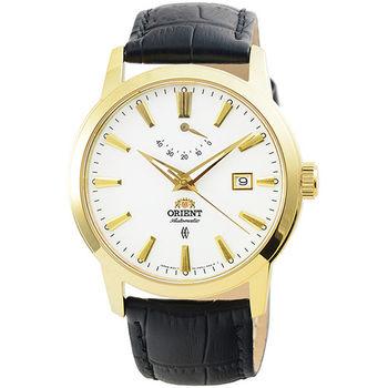 ORIENT 東方錶動力儲存藍寶石機械皮帶錶-金 / FFD0J002W (原廠公司貨)