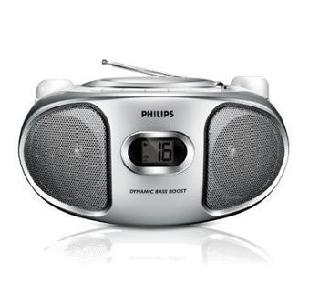 PHILIPS飛利浦手提CD音響AZ102S