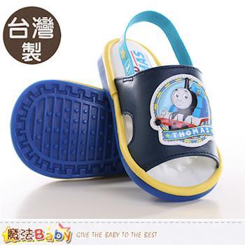 魔法Baby 幼兒鞋 台灣製湯瑪士正版寶寶嗶嗶鞋~sh9606
