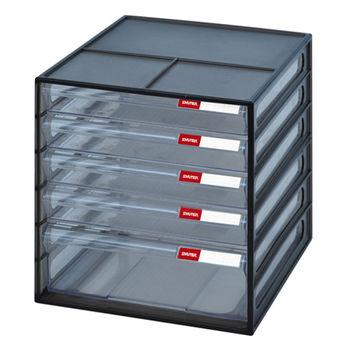【SONA MALL】五層桌上文件資料櫃(4低抽+1高抽)