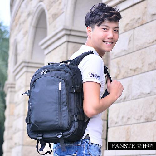Fanste_梵仕特 電腦後背包 多功能休閒包-9418