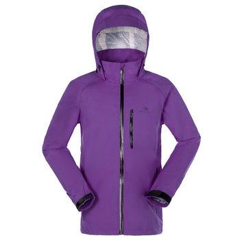 【聖伯納 St.Bonalt】男-探索系2.5層防水防風外套-暗紫色(86074)  全塗層防水