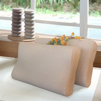 Indian 麂皮獨立筒枕