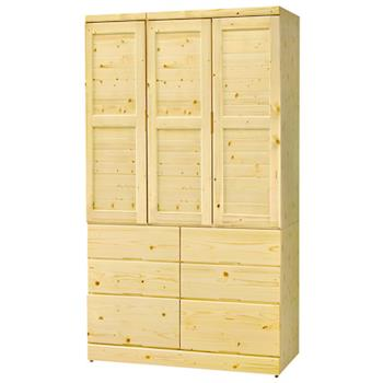 【時尚屋】[G16]松木4x7尺衣櫥G16-103-4