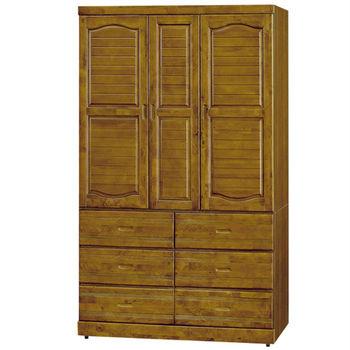 【時尚屋】[G16]樟木4x7尺衣櫥G16-106-4