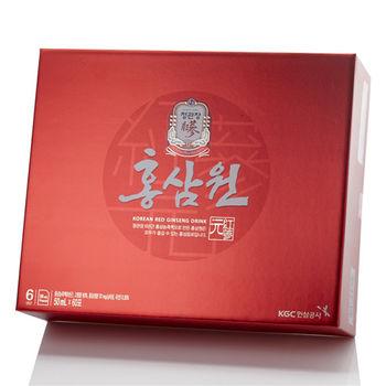 【韓國正官庄】高麗蔘源6入禮盒組附提袋( 3倍加強版 )