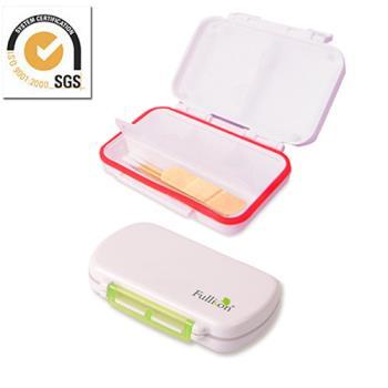 防潮設計 6格藥盒葯盒/隨身盒/收納盒