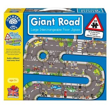 英國Orchard Toys幼兒地板大拼圖 馬路 Giant Road Jigsaw