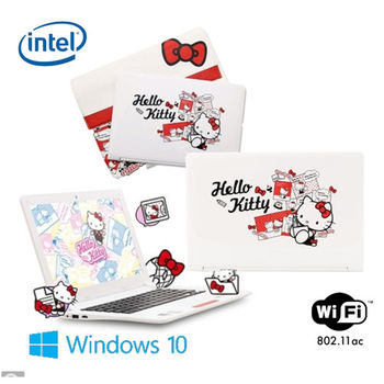 Logah 力銘 Hello Kitty Grace11 11.6吋 四核心  Win10 羽量級輕巧小筆電 三麗鷗授權代理