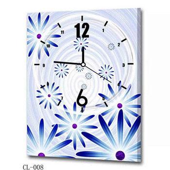【TIME ART】靜音機芯時鐘 無框畫鐘 掛鐘  40*60*2.5cm R1-078