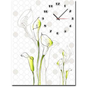 【TIME ART】靜音機芯時鐘 無框畫鐘 掛鐘  40*60*2.5cm R1-068