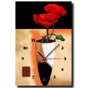 【TIME ART】靜音機芯時鐘 無框畫鐘 掛鐘  40*60*2.5cm R1-041