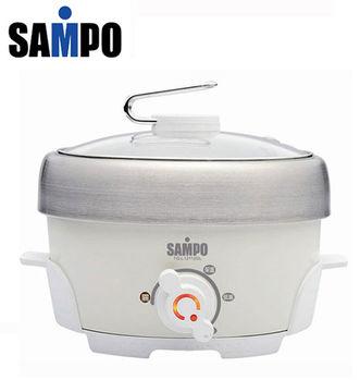 『SAMPO 』☆聲寶 1.1L不鏽鋼電火鍋 TQ-L12112GL /TQL12112GL