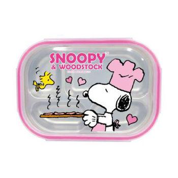 史努比Snoopy不銹鋼餐盤-廚師