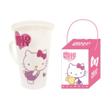 Hello Kitty高雅馬克杯-糖果款510ml