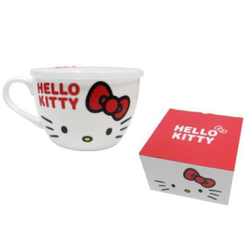 Hello Kitty微波湯杯+蓋780ml±5%