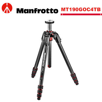 Manfrotto MT190GOC4TB 190go! 碳纖維四節腳架