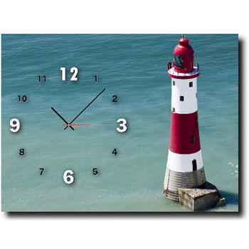 【TIME ART】靜音機芯時鐘 無框畫鐘 掛鐘  30*40*2.5cm R1-069