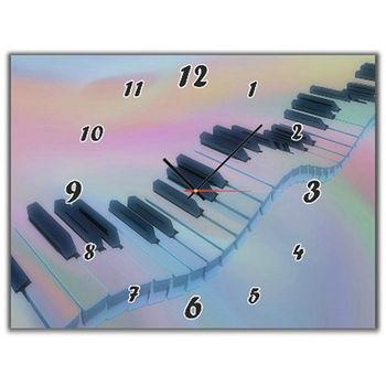 【TIME ART】靜音機芯時鐘 無框畫鐘 掛鐘  30*40*2.5cm R1-065