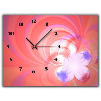 【TIME ART】靜音機芯時鐘 無框畫鐘 掛鐘  30*40*2.5cm R1-055