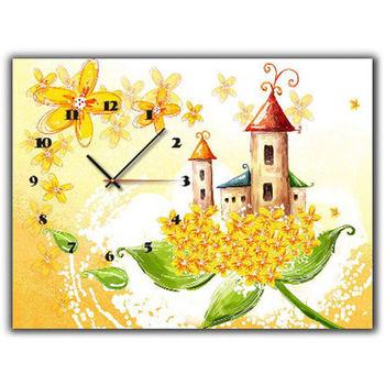 【TIME ART】靜音機芯時鐘 無框畫鐘 掛鐘  30*40*2.5cm R1-054